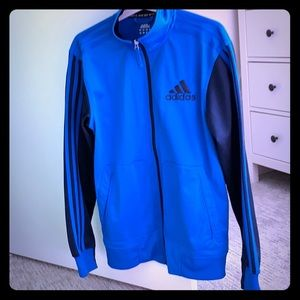Adidas light weight jacket for male or female.